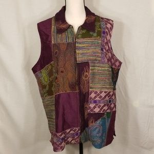 Coldwater Creek womans plus size 1X vest